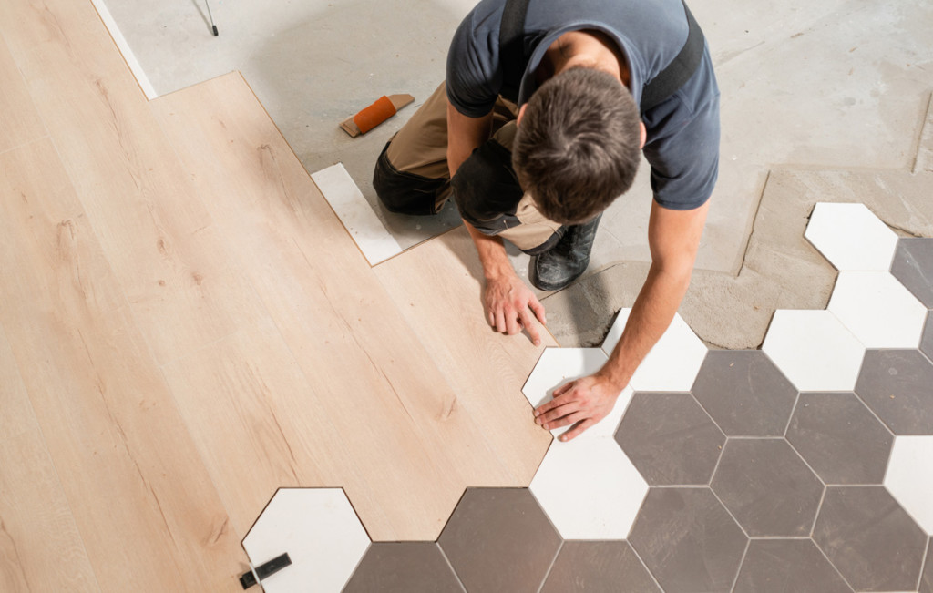 getting new floors with a home improvement loan